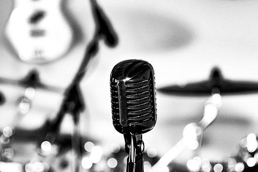 Microphone, Music, Drums, Instrument, Musical, Rhythm