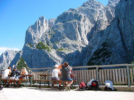Wilderkaiser, Stripsenjochhaus, Rock, Alpine