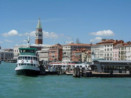 Venice, Ship, Water, Holiday, Homes, Channel, Romantic