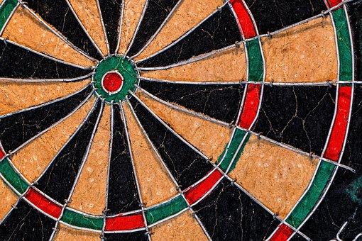 Target, Aim, Dartboard, Bullseye, Darts, Dart, Goals