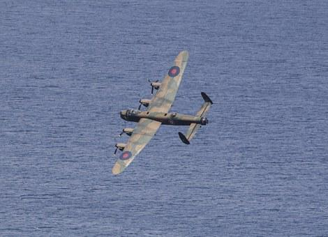 Lancaster, Bomber, Aircraft, Airplane, Plane, Air Show
