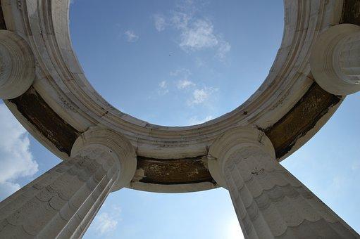 Ancona, Italy, Himmel, Sky Blue, Summer, Marble