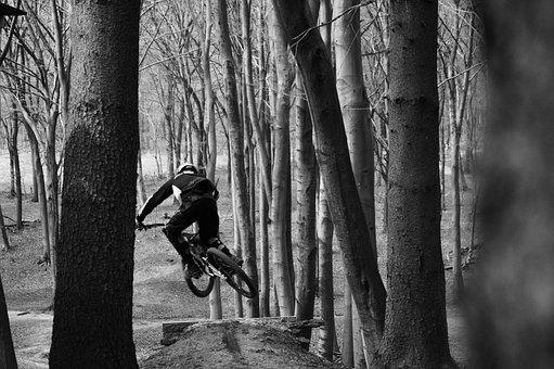Rairdon, Downhill, Black White