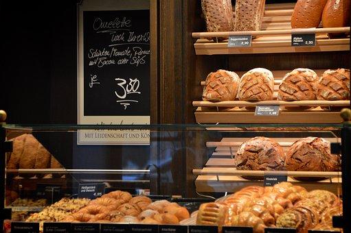 Bakery, Indoors, Bread Shelves, Farmer's Bread