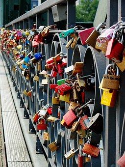 Love Locks, Castles, Love Symbol, Bridge, Love Castle