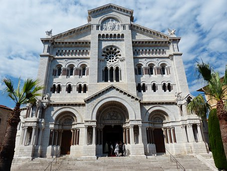 Cathedral, Notre Dame Immaculée, Monaco, City