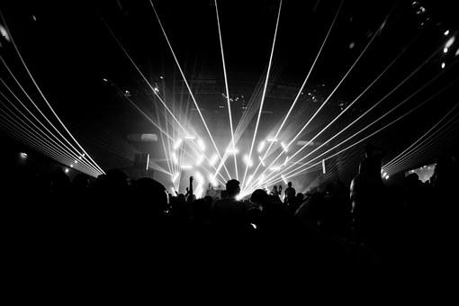 Night, Festival, Club, Music, Techno, Concert, Lights