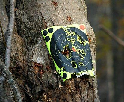 Target Practice, Bullseye, Shooting, Sport, Competition