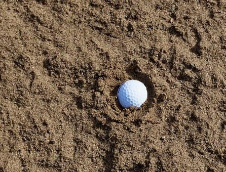 Sand, Golf, Bunker, Trap, Sport, Course, Club, Golfing
