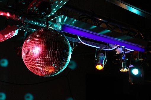 Disco, Disco Ball, Nightclub, Dance Club, Night Club