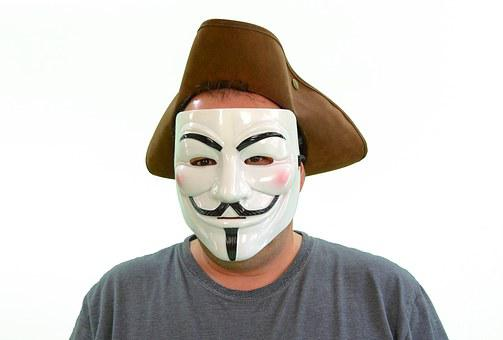 Anonymous, Hacker, Anarchy, Mask, Leak, Data Leakage