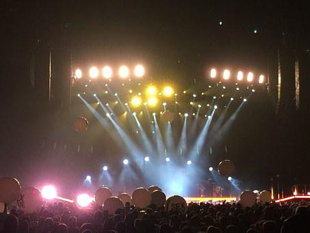 Music, People, Lights, Concert, Entertainment, Rock