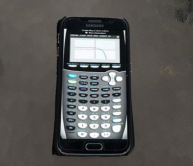 Calculator, Graphing Calculator, App, Graph, Education