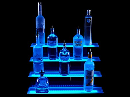 Led Liquor Shelves, Led Lights, High Density Led Strips