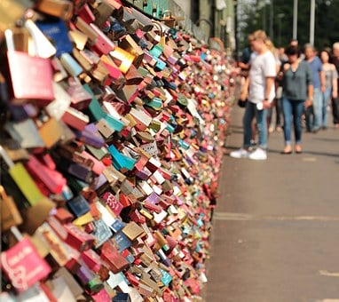 Love Castle, Hohenzollern Bridge, Love Locks, Bridge