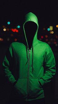 Man, Faceless, Bokeh, Horror, Anonymous, Surreal