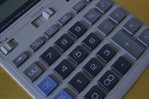 Calculator, Calculation, Keypad, Finance, Mathematics
