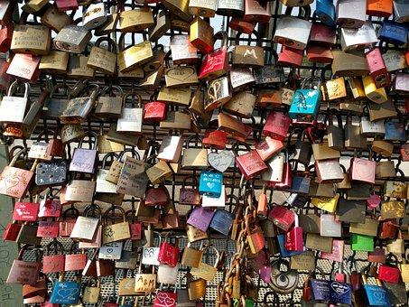 Padlock, Bridge, Padlocks, Love, Love Locks, Castle