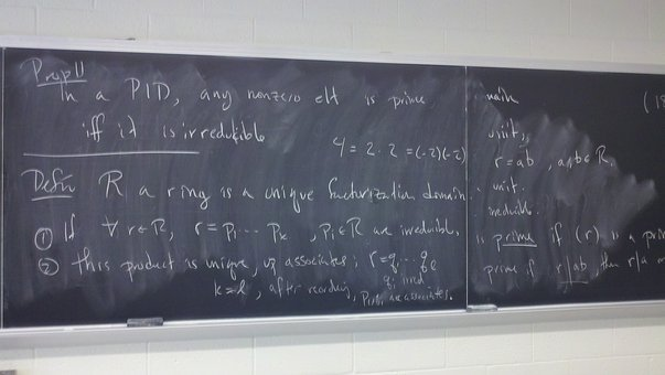Mathematics, Math, Abstract Algebra, Chalk Board