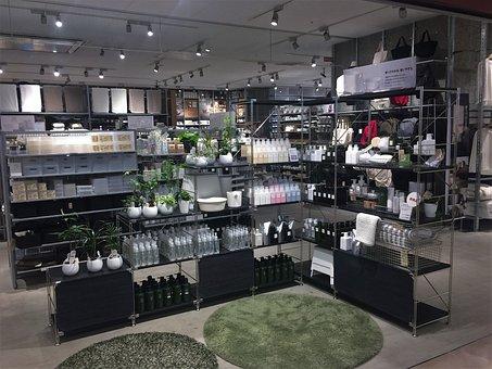 Mujirushi Ryohin, Display, Shampoo, Rinse, Treatment