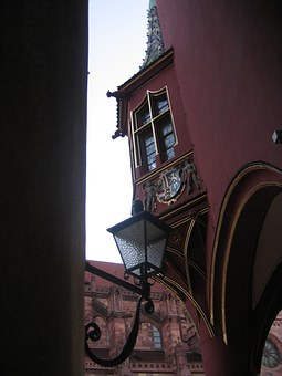 Freiburg, Bay Window, Window, Old Town, Architecture