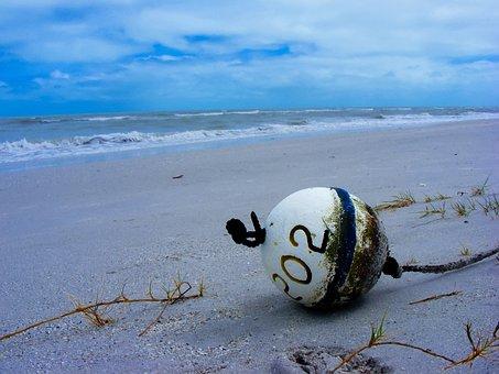 Gulf Coast, Ocean, Sea, Outside, Sand Beach, Sand