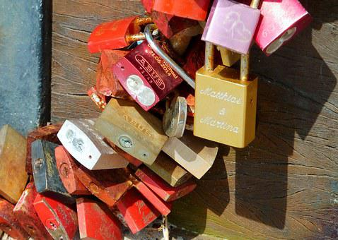 Castles, Love Locks, Castle, Love, Love Castle, Padlock