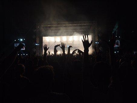 Concert, Crowd, Dance, Music, Performance, Audience