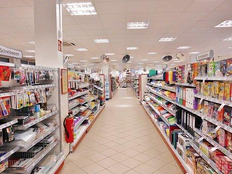 Supermarket, Shopping, Rack Gear, Stationery, Sb-market