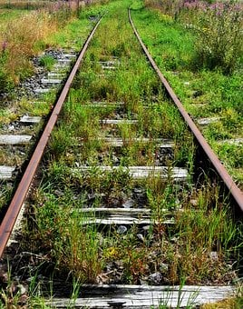 Railway Tracks, Track, Rails, Track Bed