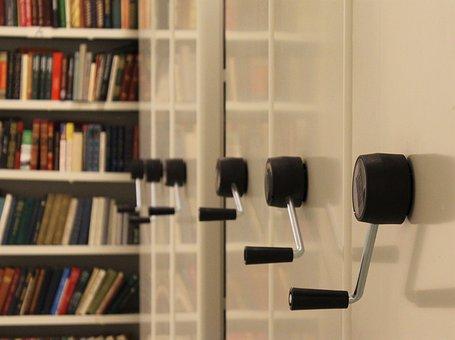 Repository, Stock, Books, Shelves, Pen, Shelving