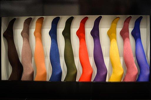 Stockings, Tights, Noga, Legs, Exhibition, Shop