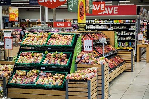 Shopping, Supermarket, Merchandising, Store, Shop, Food