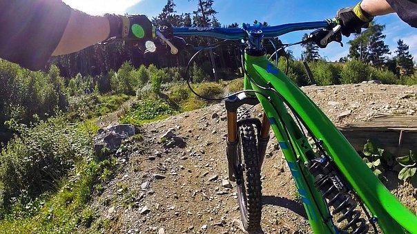 Mountain Bike, Sport, Downhill, Freeride