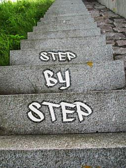 Success, Gradual, Career, Stairs, Gradually, Up, Rise