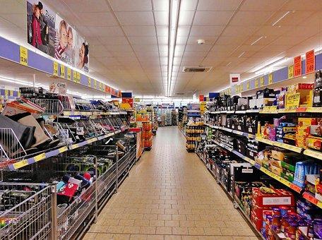 Supermarket, Shelves, Shopping, Regal Road
