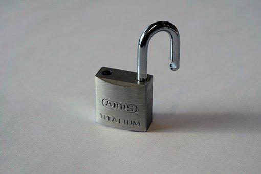 Castle, Padlock, Love Symbol, Metal, U-lock, Closed