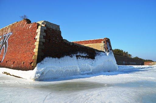 Pora, Winter, Kdf, Baltic Sea, Ice