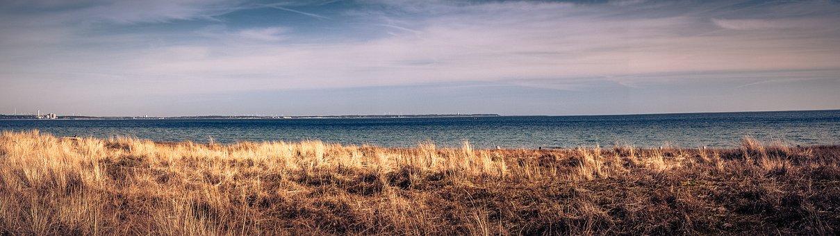 Baltic Sea, Sea, Timmendorfer Beach, Coast, Beach