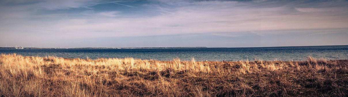 Baltic Sea, Sea, Timmendorfer Beach, Coast, Beach