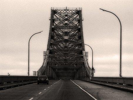 Bridge, Structure, Architecture, Transportation