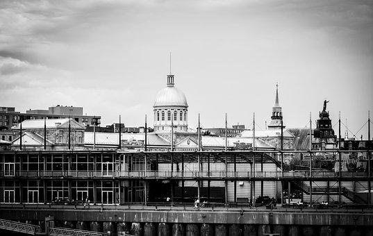 City, Montréal, Buildings, Architecture