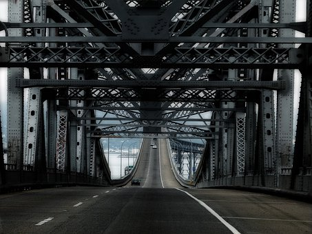 San Rafael Bridge, San Francisco, California, Usa
