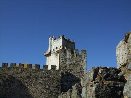 Castelo De Beja, Castle, Portugal, Beja, Fortress