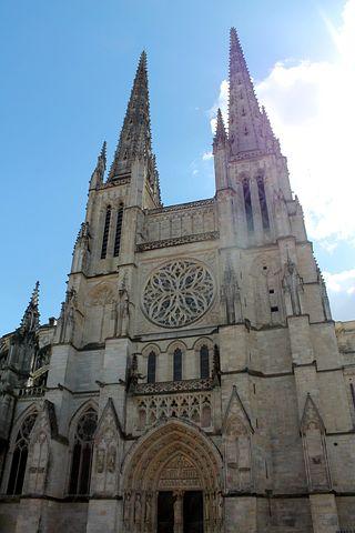 Cathedral, Duomo, France, Bordeaux, Tourism