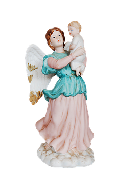 Angel, Christmas, Ornament, Guardian, Baby, Decoration