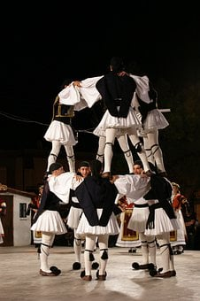 Greece, Folk, Dance, Greek, Tradition, Traditional