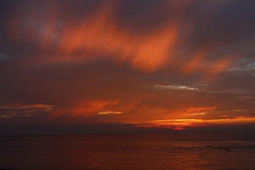 Sunset, Kochi, Silhouette, Dusk