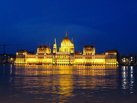 Hungary, Budapest, Parliament, Architecture, Capital