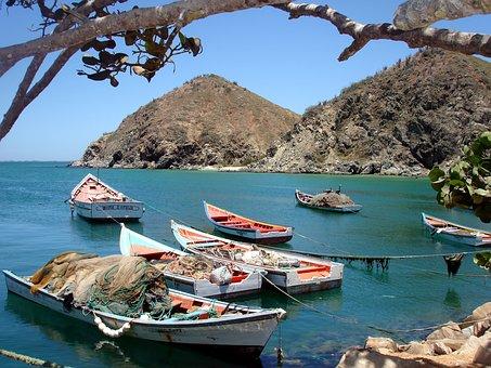 Playa Valdez, Bay, I Boat, Boat, Fishing